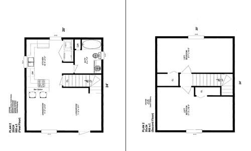 24x32 cabin with loft joy studio design gallery best for 20 x 20 cabin plans
