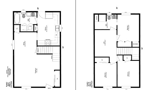 28 x 32 house plans house home plans ideas picture