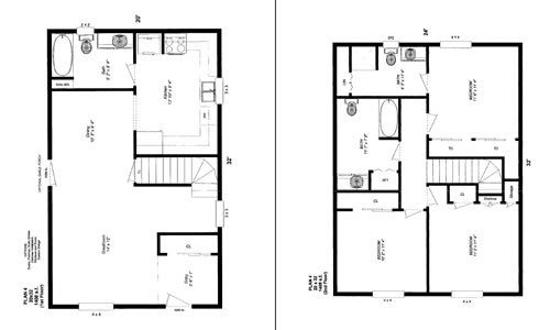 Floor plans 16 x 32 joy studio design gallery best design for 16 x 30 cabin floor plans
