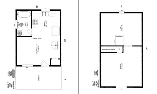 Pin Cabin Floor Plans 16 X 20 On Pinterest